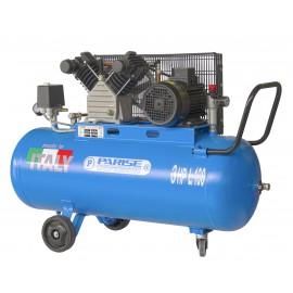 Compressore a cinghia bicilindrico 100 litri 3 hp 8 bar MOD. P 100 CmH