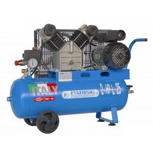 Compressore portatile a cinghia bicilindrico 25 litri 2 hp 8 bar MOD. P 25 SCmX