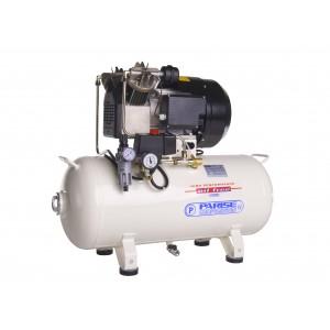 Compressore oil-free silenziato a secco con cofanatura in plastica 50 Lt