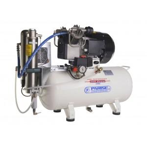 Compressore oil-free a secco con raffreddatore ed essiccatore 50 Litri