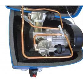 Compressore oil-free silenziato a secco con cofanatura in plastica 50 Litri
